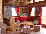 Lodge located in the resort of Champagny Le Haut hamlet of Le Bois