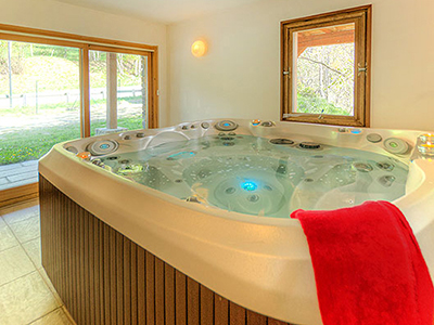 wellness spa chalet French Alps